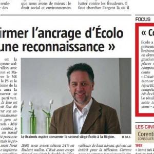 Interview dans La Capitale